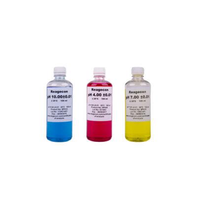 SCHARLAU pH puffer készlet 3x100 ml