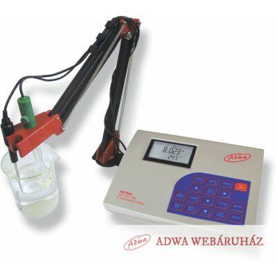 AD 1020  Professzionális pH/ORP/ISE/T laboratóriumi, asztali mérőműszer