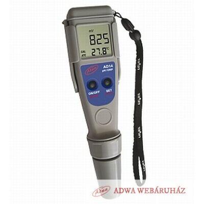 pH/ORP/Temp - mérő- AD14:  NETTÓ 22000 Ft + kalibráló oldatok + ingyenes szállítás