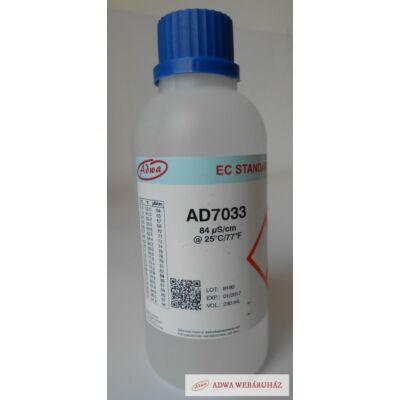 AD7033 EC kalibráló oldat  84 μS/cm  230 ml
