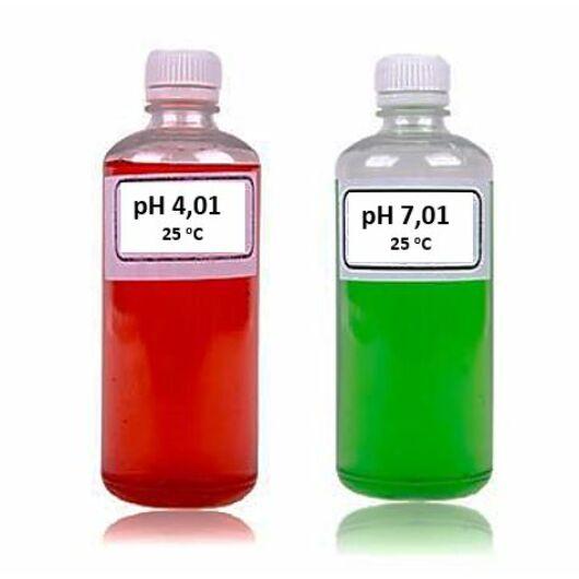 Szeretnél 2x100 ml kalibráló oldatokat a pH mérődhöz? Nélkülük nem lesz pontos.