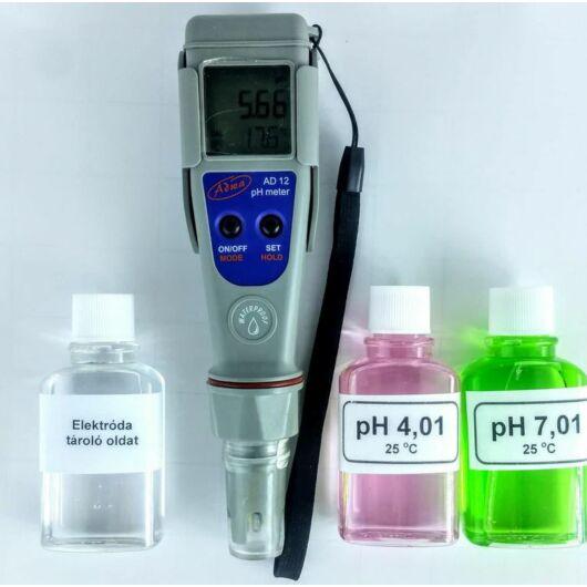 AD12 pH mérő