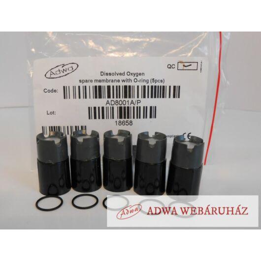AD8001A/P Csere Membrán O-gyűrűvel(5 db)  AD8001D/3 DO elektródához