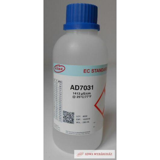 1413 mikroszimensz/cm kalibráló oldat ADWA AD7031  230 ml