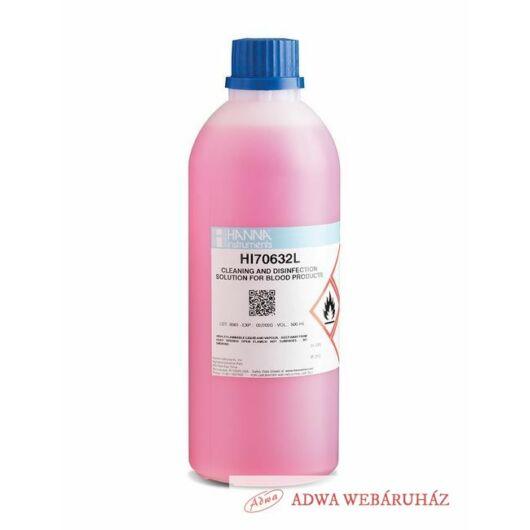 HI70632L Tisztító- és fertőtlenítő oldat vér eltávolításhoz pH elektródáról