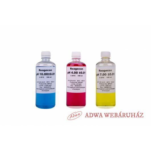Szeretnél kalibráló oldatokat (pH 4,7,10) a pH mérődhöz? Nélkülük nem lesz pontos.